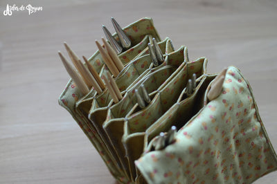 how to organize your interchangeable needles