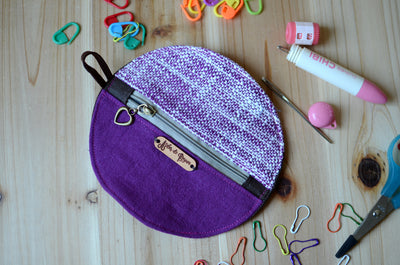 Mini zipper case/ Perfect for gift exchange, stocking stuffer, and self-gifting.