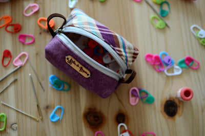 Coin purse/ Stocking stuffer/ notion pouch/ Purple dance