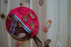Cute notion pouch for knitters/ for stitch markers, scissors, and little goodies