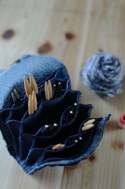 Knitting is you yoga? Here's the secret of how to organize your interchangeable knitting needles