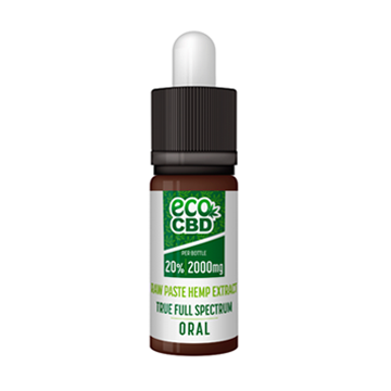2000mg CBD Paste Hemp Extract Full Spectrum 10ml - 20%