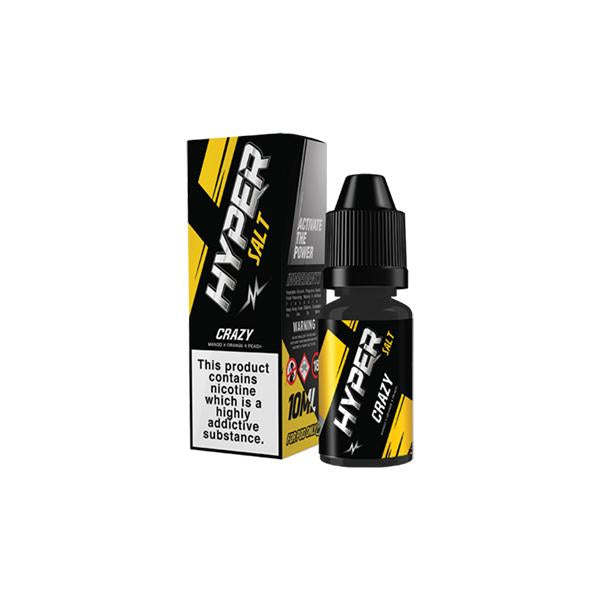 10mg Hyper Salt 10ml Nic Salts (50VG/50PG)