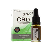 Canabidol 500mg CBD Raw Cannabis Oil Drops 10ml