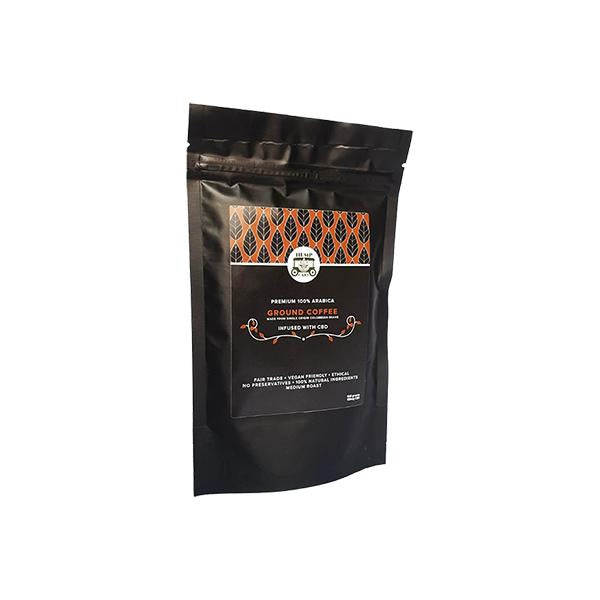Hemp Cart 100mg CBD Ground Coffee 100g Bag