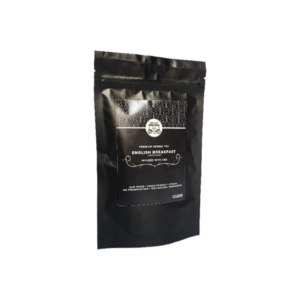 Hemp Cart Loose Leaf CBD Tea Bags - English Breakfast Tea