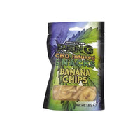 Peng CBD Infused Snacks - Banana Chips