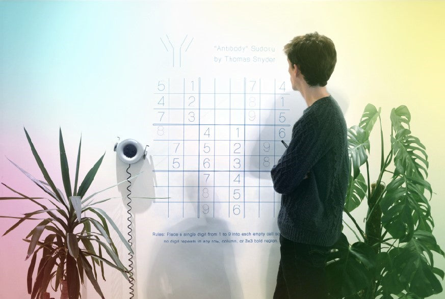 "Bored at home? Try a robotic ""Wall-Sudoku"""