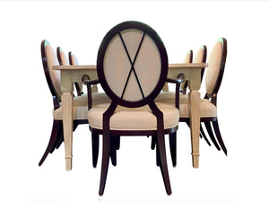 Dining Tables, Chairs and Display Cabinets