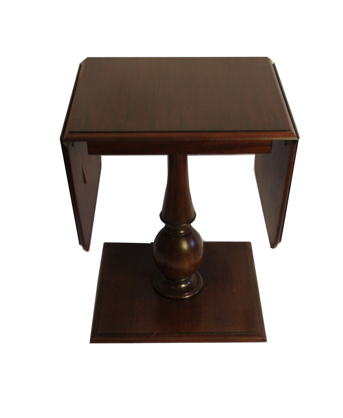 Century Furniture Living Room Davis Drop Leaf Side Table