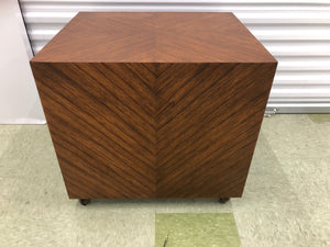 Zebra Wood Accent Table by Baker Furniture - Grand Expressions Gallery and Home Store