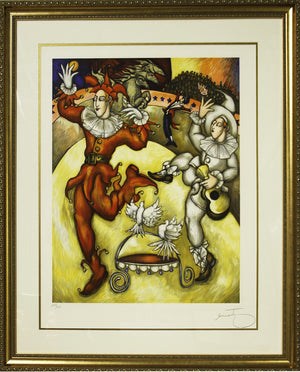 Le Grand Joker by Artist Jose Semante - Grand Expressions Gallery and Home Store