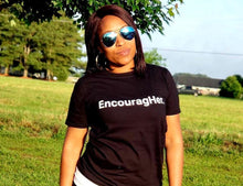 EncouragHer. (Black) Unisex T-Shirt