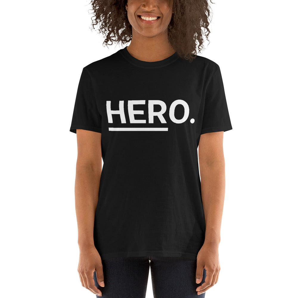 HERo. (Black) Unisex T-Shirt