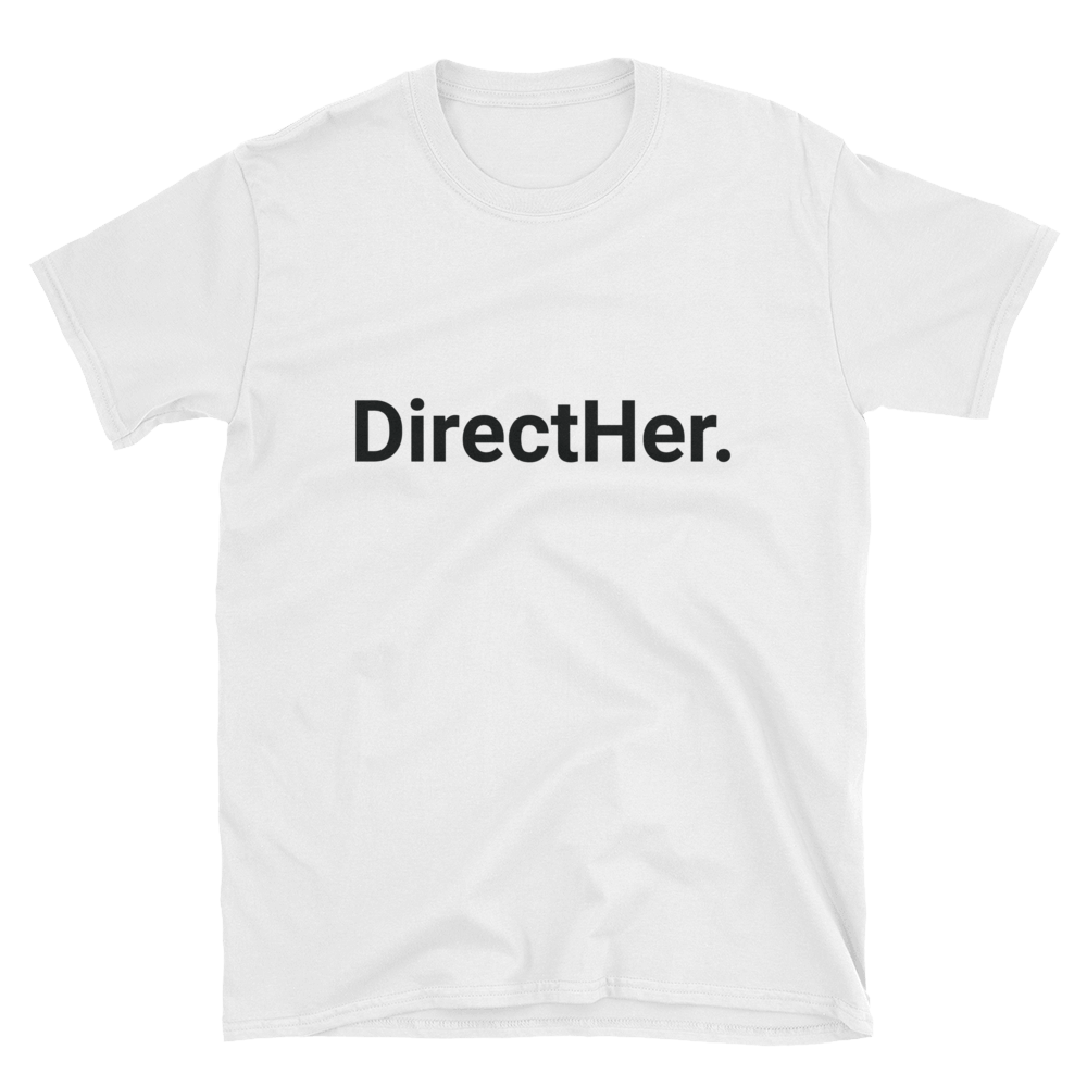 DirectHer. (White) Unisex T-Shirt