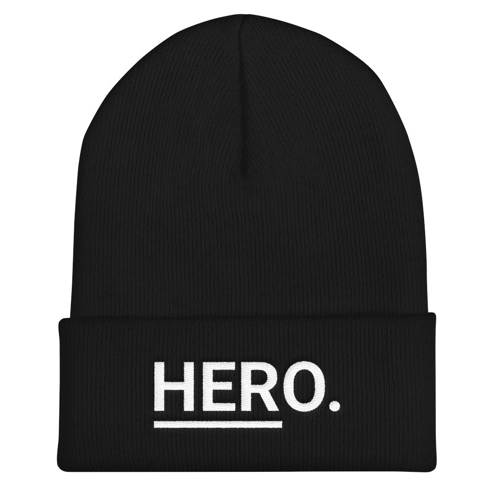 HERo. Cuffed Beanie (Black)