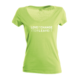 "Damenshirt ""LoveIT, ChangeIT, or LeaveIT"""