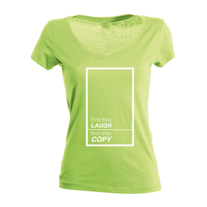 First they laugh (women's)