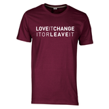 "Kurzärmliges T-Shirt ""LoveIt ChangeIt OR LeaveIt"""