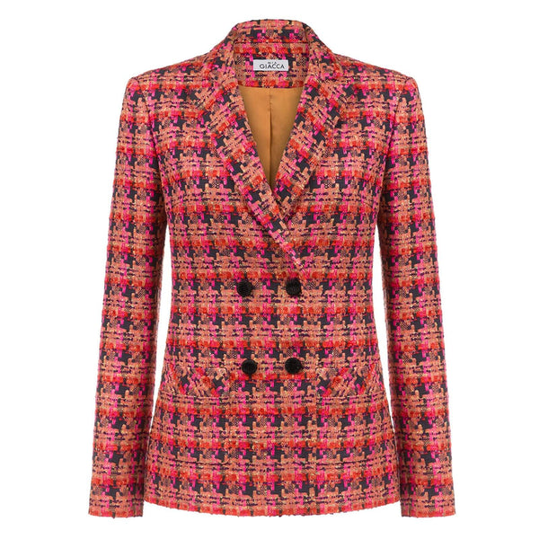 'Flame' tweed blazer SAMPLE SALE