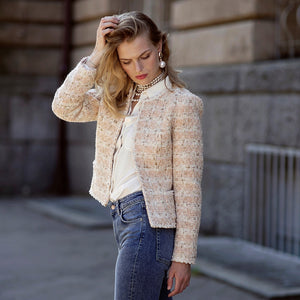 'Grace' tweed jacket