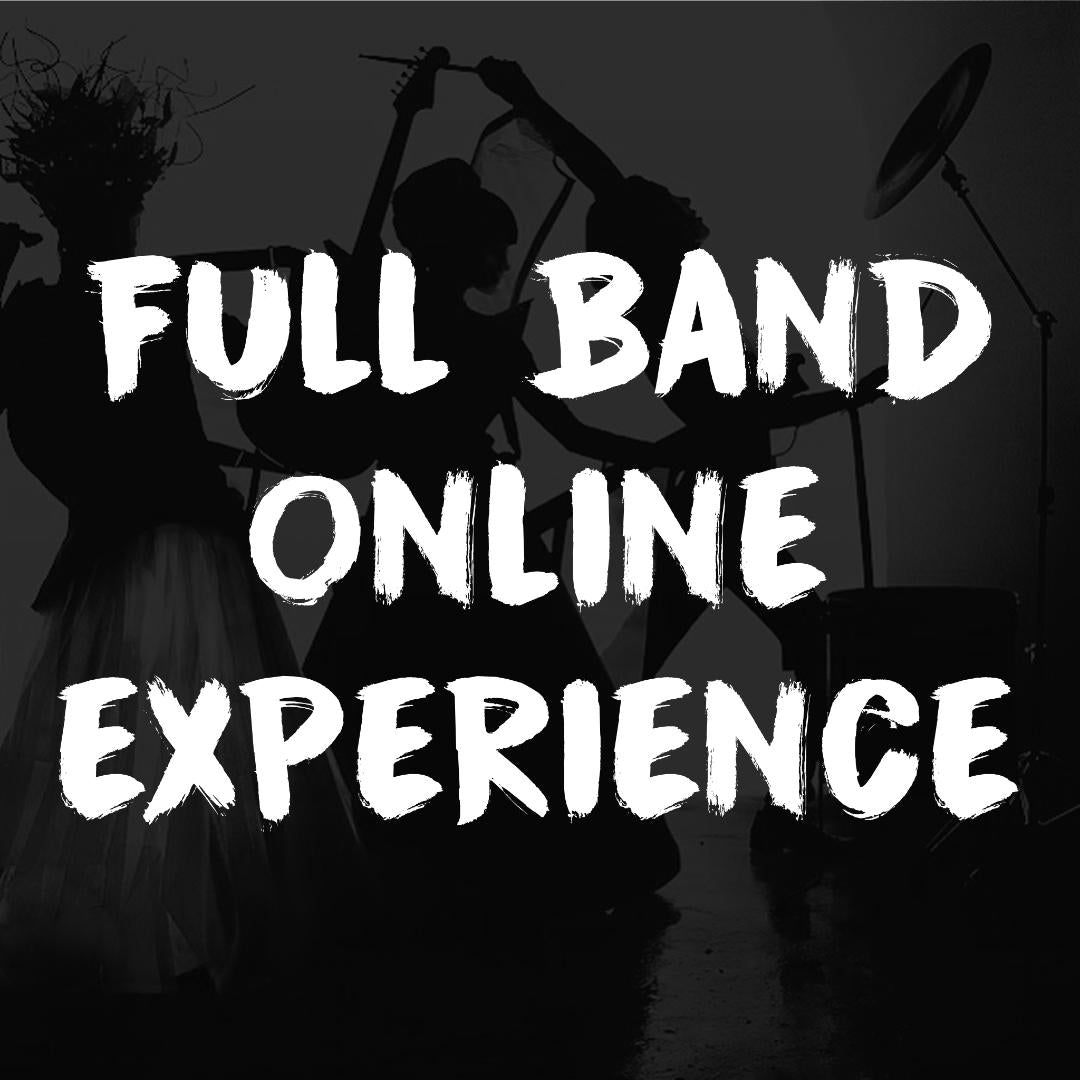 Full Band Private Online Experience + Live Q&A