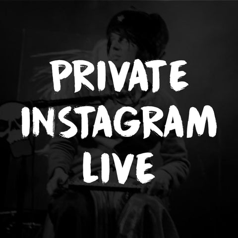 "Private Online Experience w/ Trash Mc + Instagram ""Trash & Friends"" Q&A"