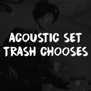 Private Online Acoustic Experience w/ Trash Mcsweeney