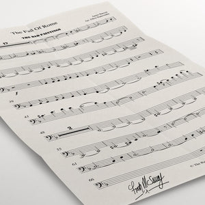 Signed Orchestral Score