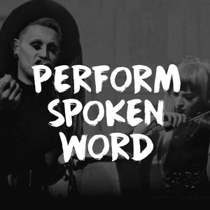 Perform Spoken Narrative with TRP at a live show!