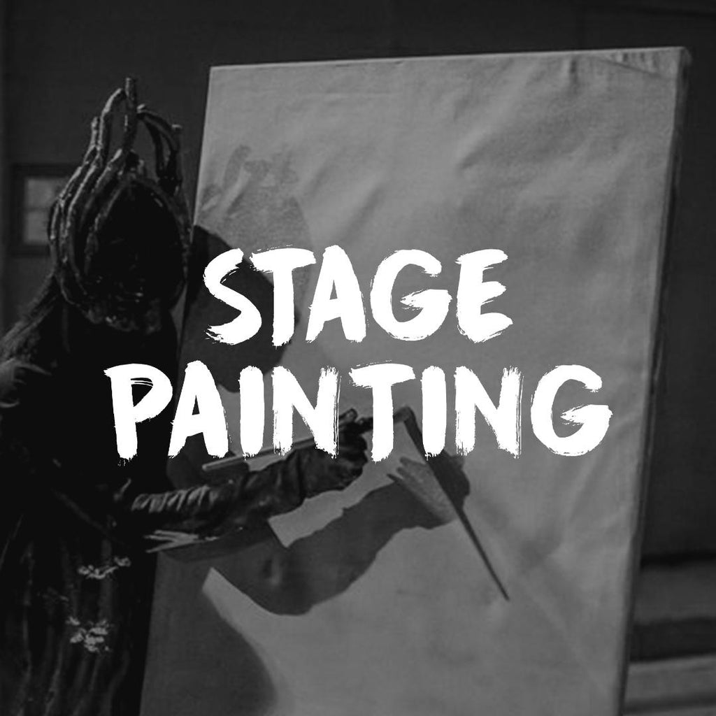 Original Painting created LIVE on stage