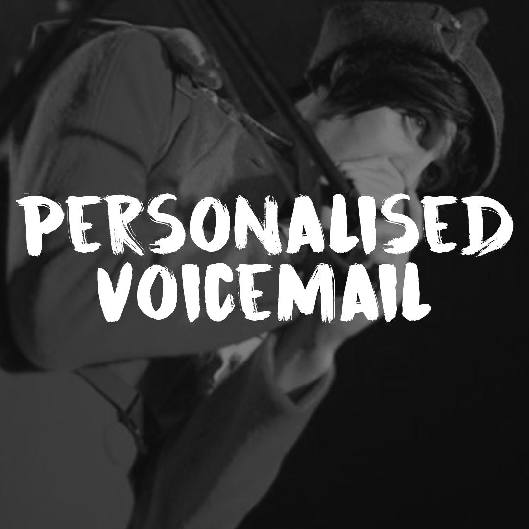 Personalised Voicemail