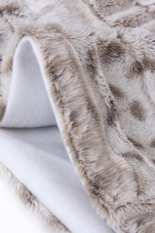 Sassy Animal Print Fleece Blanket