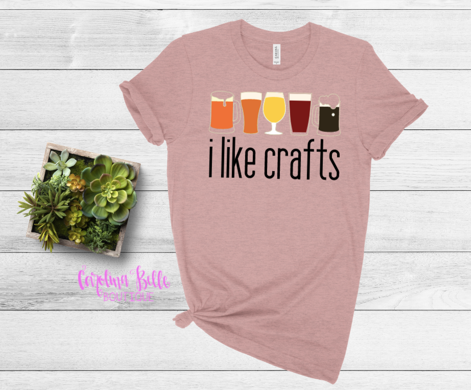 I Like Crafts Graphic Tee