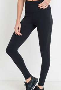 The Bianca Compression Leggings- Black
