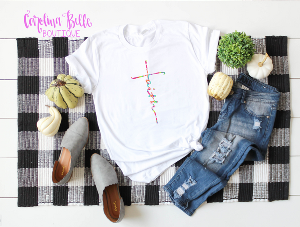 Faith Graphic Tee- Lilly Inspired