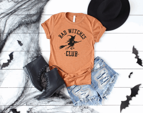 Bad Witches Club Graphic Tee
