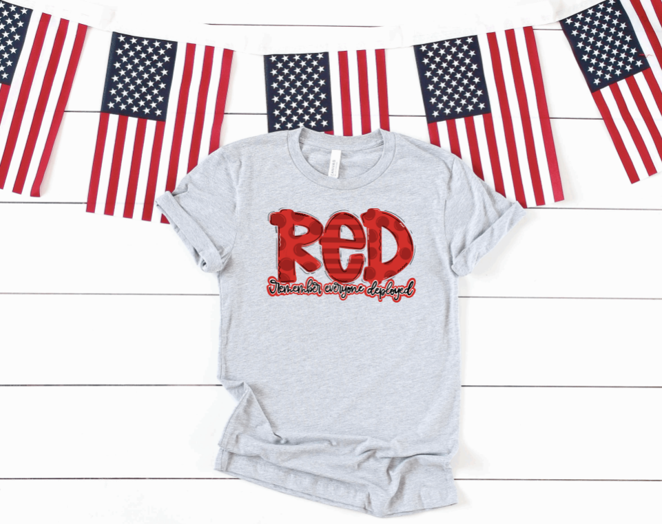Remember Everyone Deployed Graphic Tee