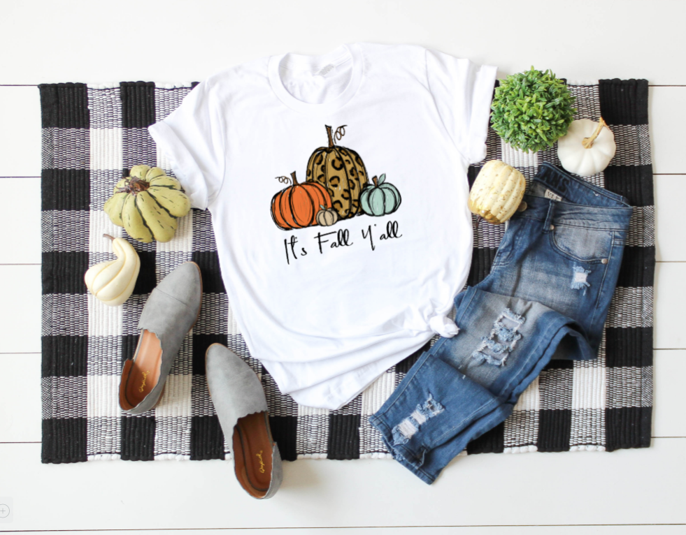 It's Fall Y'all Graphic Tee