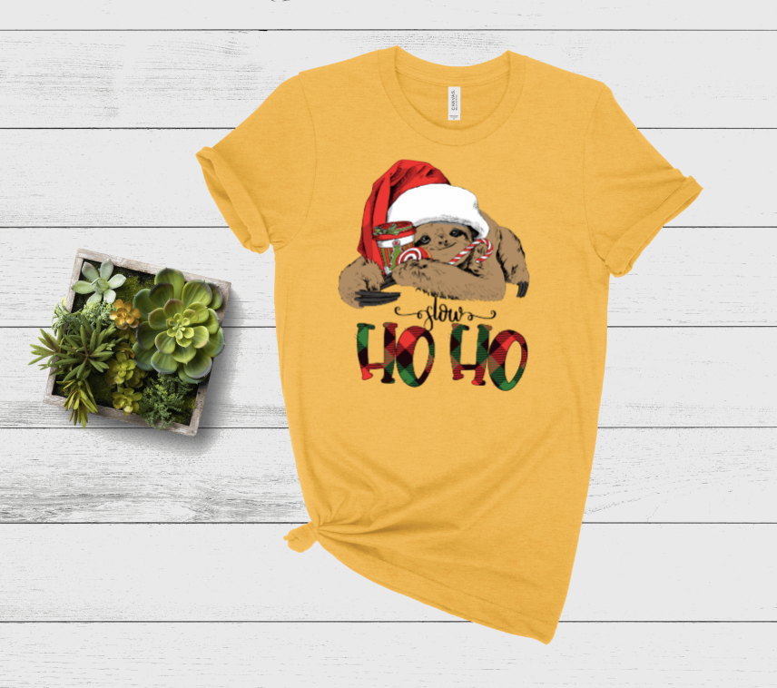 Slow Ho Ho Graphic Tee