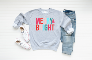 Merry & Bright Graphic Sweatshirt