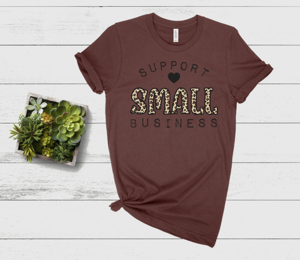 Support Small Businesses Graphic Tee