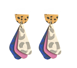 The Dino- Earrings