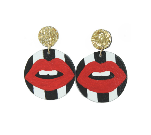 The Allie Stripes- Earrings