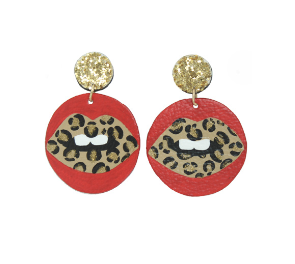The Allie Cheetah- Earrings