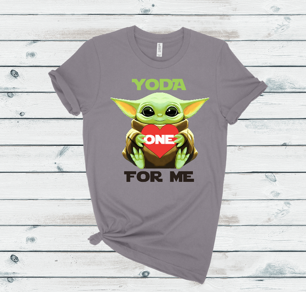 Yoda One For Me Graphic Tee