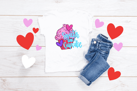 KIDS Sweeter Than A Cupcake Graphic Tee