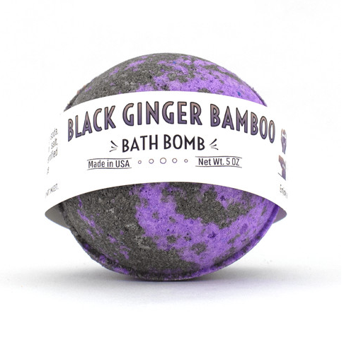 Bath Bomb- Black Ginger Bamboo