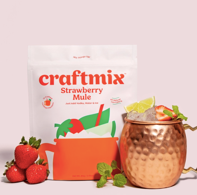 Strawberry Mule Cocktail Mix