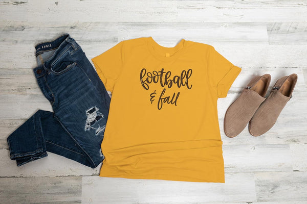 Football & Fall Graphic Tee